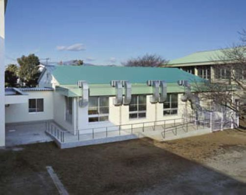 鶴嶺小学校給食場改修工事